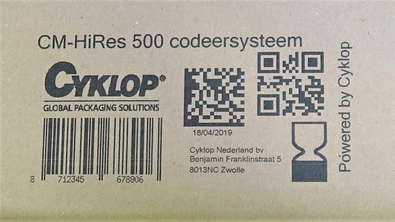 Cm 500 Print Example