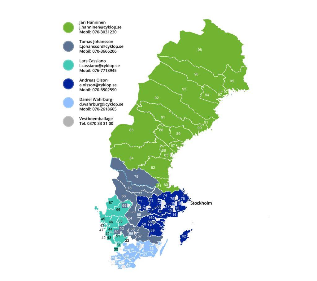 Zweden Werkbestand 3